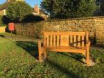 Image: New bench on the green
